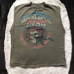 Grateful Dead graphic muscle band tee